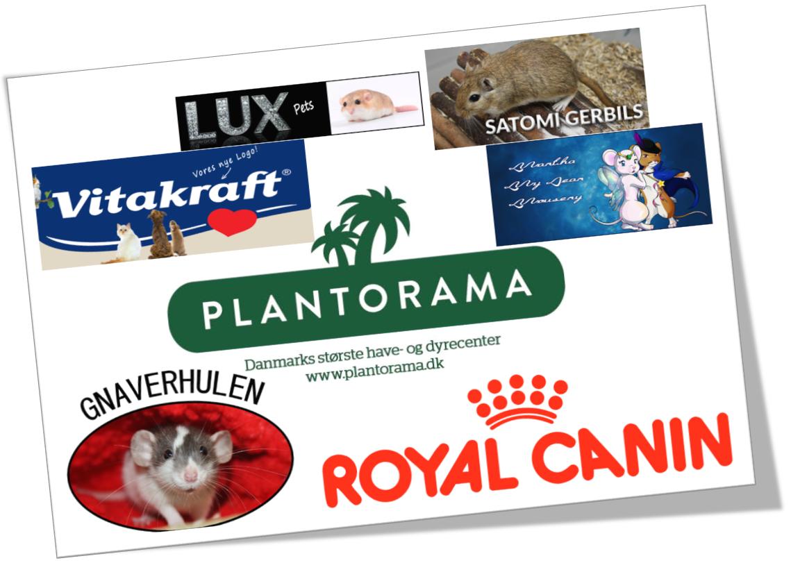 samlede sponsorer